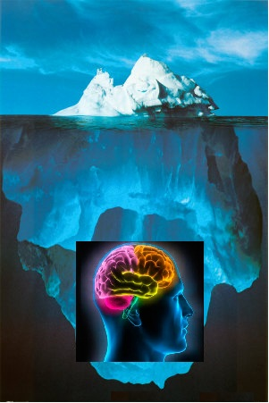 iceberg au plus profond