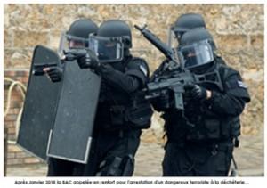 Le GIGN pour protéger les gardien de la déchèterie d'un dangereux citoyen écoresponsable!